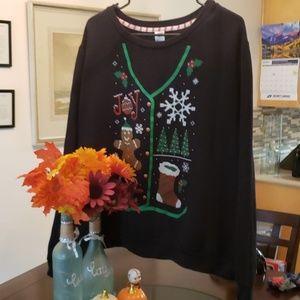 Ladies Christmas plus size Sweatshirt